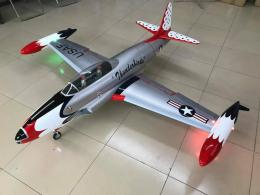 AERO JET T-33 Composite 1/6 Scale ARF Version